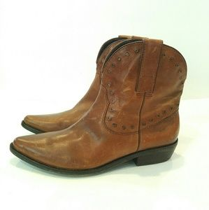 Miss Sixty Woman's Laura Boots (Tan) 39.5